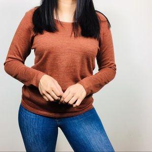 Eileen Fisher | Merino Wool Pullover Sweater PM